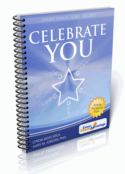 Your Talent Advantage Owner's Manual Series Volume 1 : Celebrate You sample report