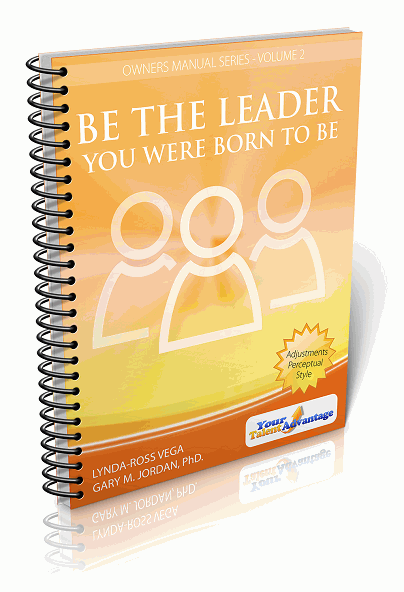 Screenshot of the bookcover for Be the Leader You Were Born To Be
