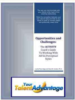 Screenshot of the book cover for Training for coaches opportunities