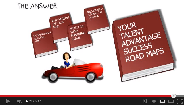 Movie depicting the benefits of the program titled Your Talent Advantage Success Road Maps