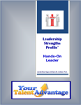 Look inside the Leadership Strengths Profile Assessment results